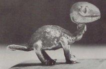 Ashanti Gold Figurine Resembling a Dinosaur